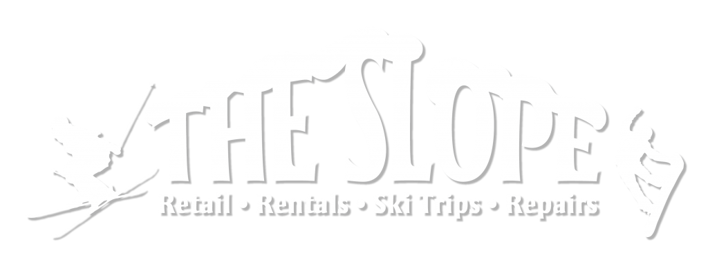 Large White Slope Logo